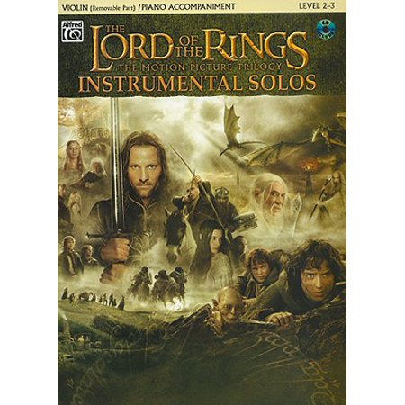 The Lord of the Rings Instrumental Solos for Strings (Paperback) (Part Of Your World Instrumental)
