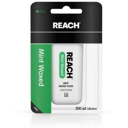 REACH Mint Waxed Floss 200