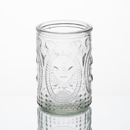 - Richland Candle Holder Textured Glass Tall Set of 12