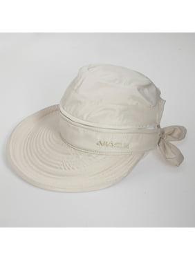 ad457ebac63 Product Image Summer Fashion Detachable Women Golf Anti-UV Wide Visor Brim  Bowknot Beach Sun Hat Cap