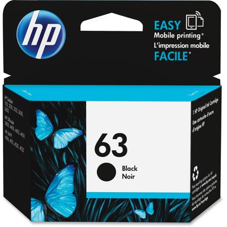 Barnstead Cartridge (HP 63 Black Original Ink Cartridge)