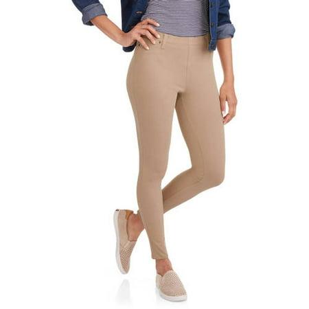 04130cb3f9b Faded Glory - Faded Glory Women s Full Length Knit Color Jegging -  Walmart.com