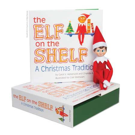 Elf on the Shelf Boy Light