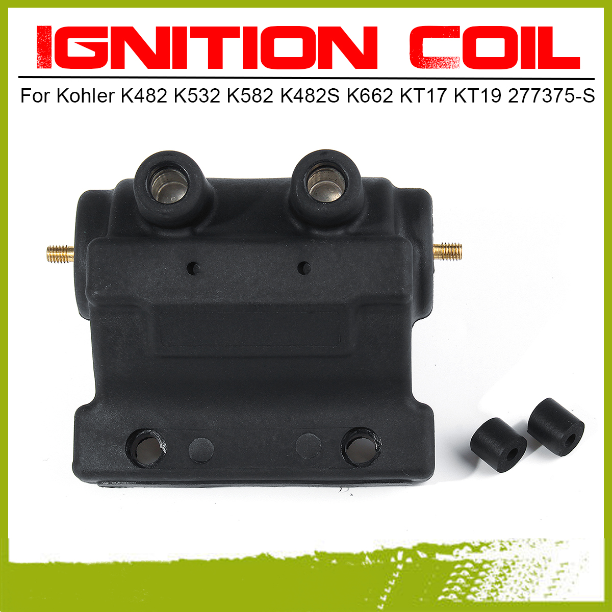 Autu Parts 52-755-48-S Ignition Coil Kit for Kohler KT17 KT18 KT19 KT 17 18 19 52 755 48 S 42 755 48-S