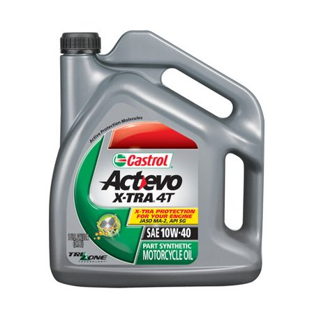 Castrol actevo semi synthetic 10w40 1 gal for Top rated motor oil synthetic
