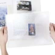 "Stalwart 3x Print Magnifier Sheet, 8.5"" x 11"""