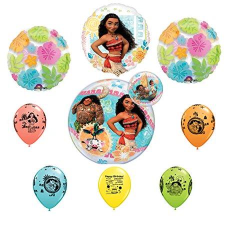 Moana Birthday Party Bubble Balloon Decoration Set](Bubble Birthday Party)