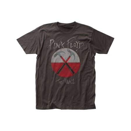 Fluid Tee (Pink Floyd Rock Band Distressed Hammers Adult Fitted Jersey T-Shirt)