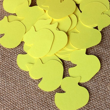 Rubber Ducky Baby Shower Confetti. Ships in 1-3 Business Days. Duck Baby Shower Table Confetti 50 CT. (50 Confetti)