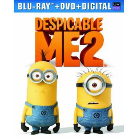 Despicable Me 2  Blu Ray   Dvd