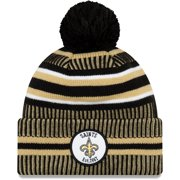 New Orleans Saints New Era 2019 NFL Sideline Home Official Sport Knit Hat - Black/Gold - OSFA