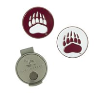 Montana Grizzlies Hat Clip & Ball Markers Set - No Size