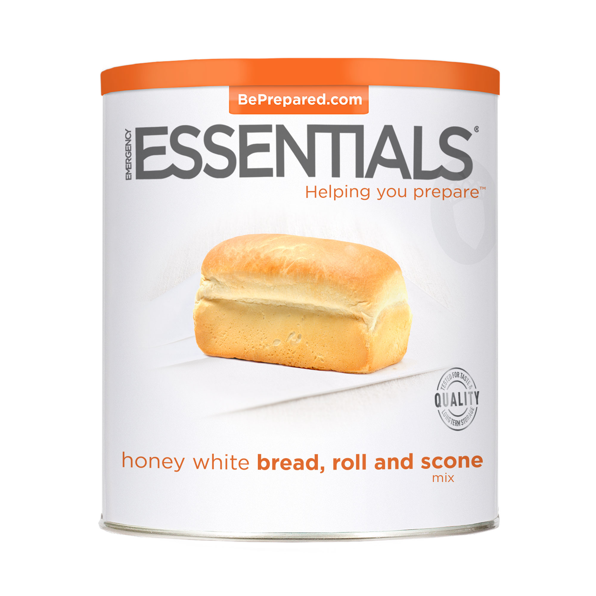 Bread, Roll, and Scone Mix, Honey White #10 Can by Emergency Essentials