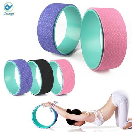 "Deago Professional Yoga Wheel 13"" Back Wheel Durable Dharma Wheel..."