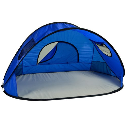 """Picnic at Ascot Family Size Instant Beach Shelter 40"""" x 80"""" x 45"""" by Picnic at Ascot"""