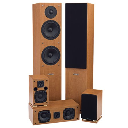 fluance sxhtb 5 speaker surround sound home theater system. Black Bedroom Furniture Sets. Home Design Ideas