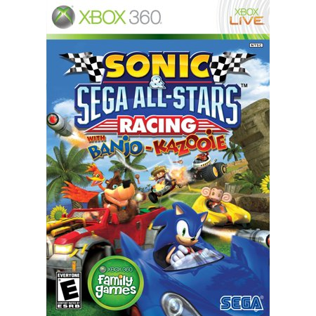 Sega Sonic   Sega All Stars Racing   Racing Game   Xbox 360  Xb3seg68040