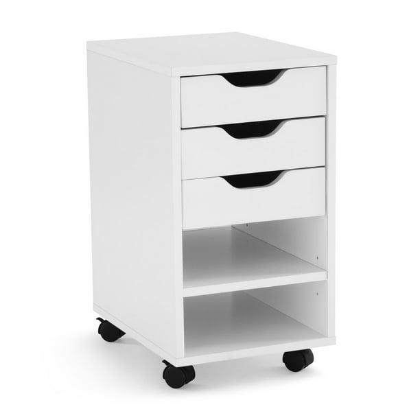 Mainstays Perkins Rolling File Cabinet Multiple Colors Walmart Com Walmart Com