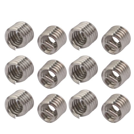 "#4-40x0.168"" 304 Stainless Steel Helical Coil Wire Thread Insert 12pcs - image 3 de 3"