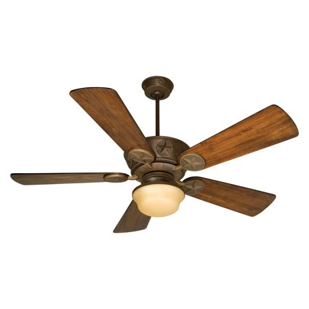 Craftmade Chaparral 54 In  Indoor Outdoor Ceiling Fan With Light