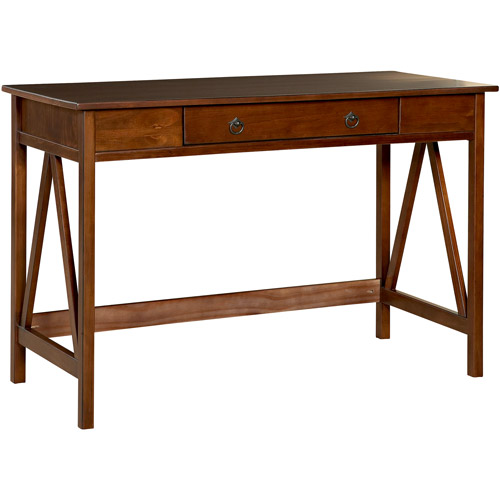 Linon Rustic Writing Desk, Multiple Colors