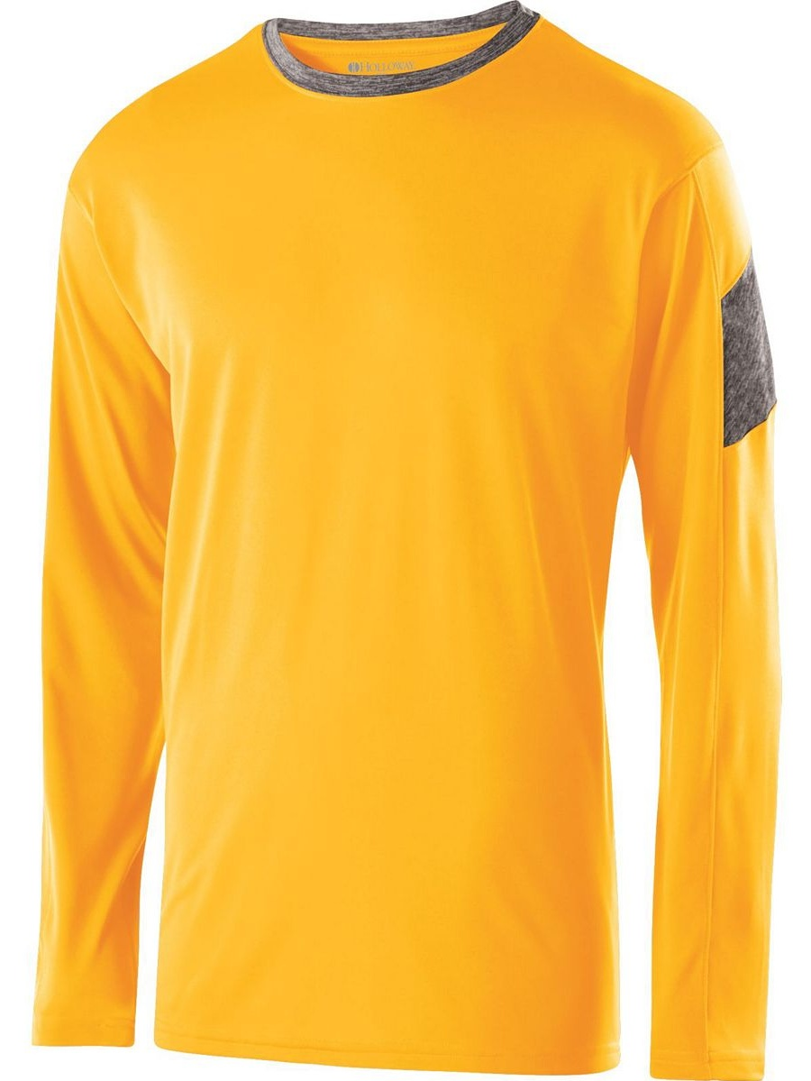 Holloway 222627 Youth Electron Shirt L/s