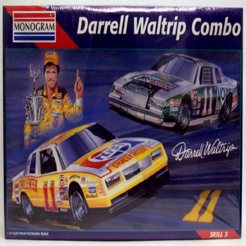 Monogram 6391 Darrell Waltrip #11 Racing Combo - 2 1:24 P...