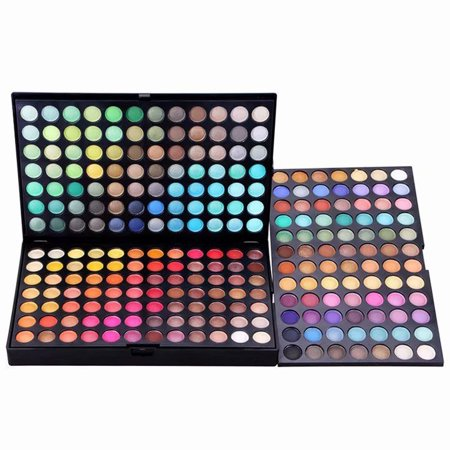 252 Stylish Color Explorer Eyeshadow Eye Shadow Palette Makeup Kit - Halloween Eye Makeup Kits