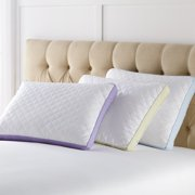 BrylaneHome Back Sleeper Gusseted Density 2-Pack Pillows