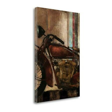 Tangletown Fine Art Moto Details Ii Print On Canvas
