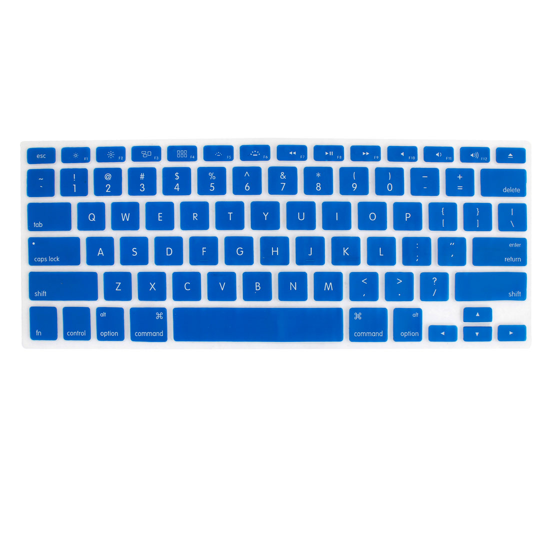 "Unique Bargains 11"" Blue Notebook Keyboard Skin Film Cover Shield"