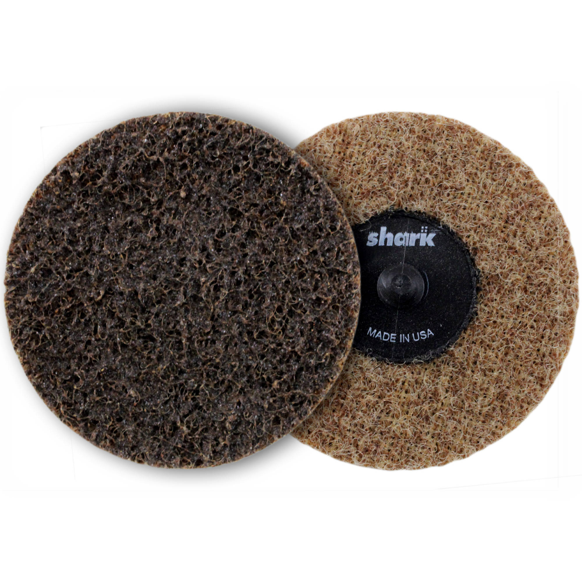 "Shark Brown Coarse Quick Change Surface Conditioning Discs, 3"", 25-Pack"
