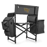 Wake Forest Fusion Chair (Dk Grey/Blac)