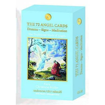 72 Angel Cards : Dreams, Signs, Meditation (Meditation Lucid Dreams)