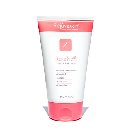 Rejuvaskin Stretch Mark Cream – Helps Improve and Prevent Stretch Marks – Cocoa Butter, Aloe, Shea - 3Fl