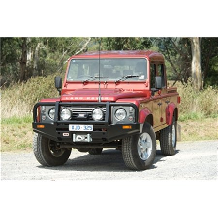 ARB 4x4 Accessories 3432300 Front Deluxe Bull Bar Winch Mount Bumper; ()