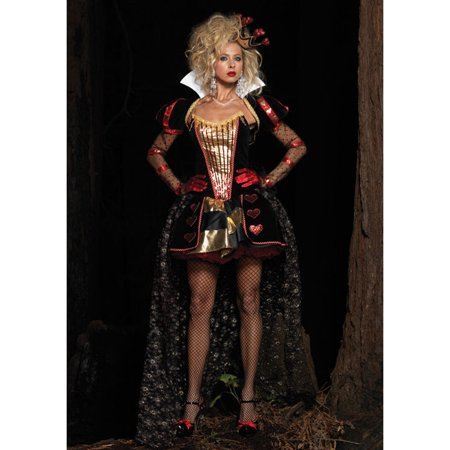Adult Deluxe Wonderland Queen Costume Leg Avenue DX83870 - Wonderland Costumes