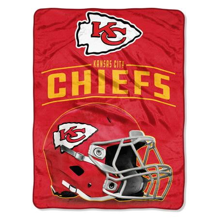 "NFL Kansas City Chiefs ""Franchise"" Micro Raschel Throw, 46"" X -"
