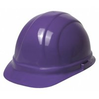 ERB SAFETY Hard Hat,6 pt. Ratchet,Purple 19988