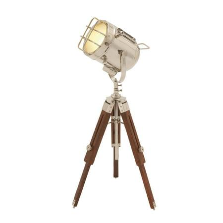 24481 Brass Wood Spot Light