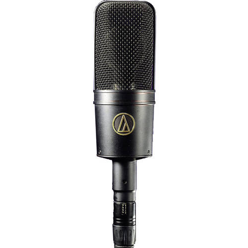 Audio-Technica Cardioid Condenser Microphone w/AT449 Shock Mount and Case