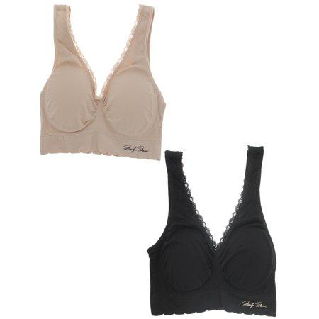 129c0cef6357a Marilyn Monroe Intimates - Marilyn Monroe Intimates Women s Seamless  Comfort Bra
