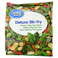 Great Value Deluxe Stir-Fry Vegetables, 20 oz