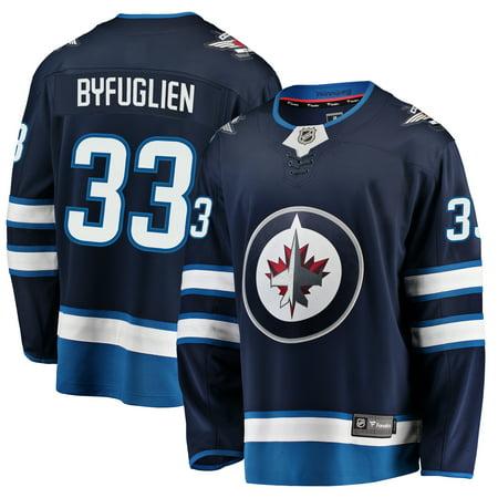 reputable site e58d9 3b32b Dustin Byfuglien Winnipeg Jets Fanatics Branded Youth Breakaway Player  Jersey - Navy - Yth L/XL