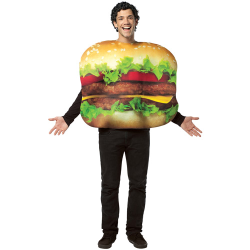 Cheeseburger Adult Halloween Costume - One Size