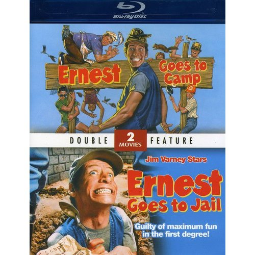 MILL CREEK 63018 Ernest Goes To Camp and Ernest Goes To Jail Blu-Ray Double Feature