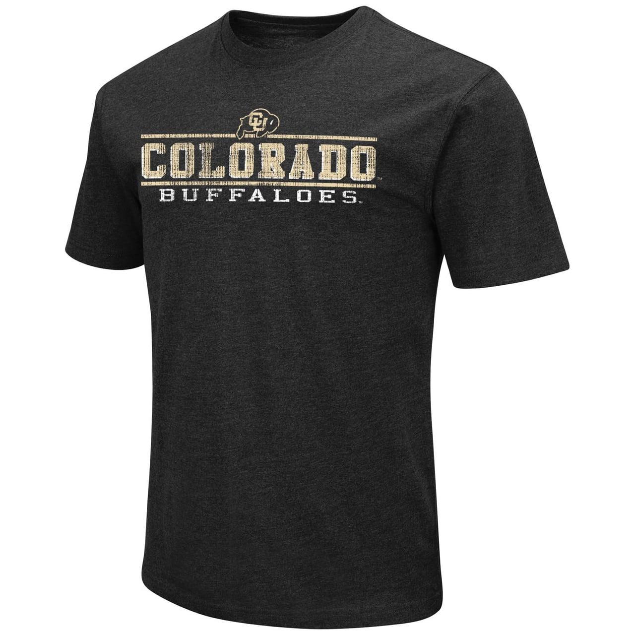 Colorado Buffaloes Adult Soft Vintage Tailgate T-Shirt  - Black