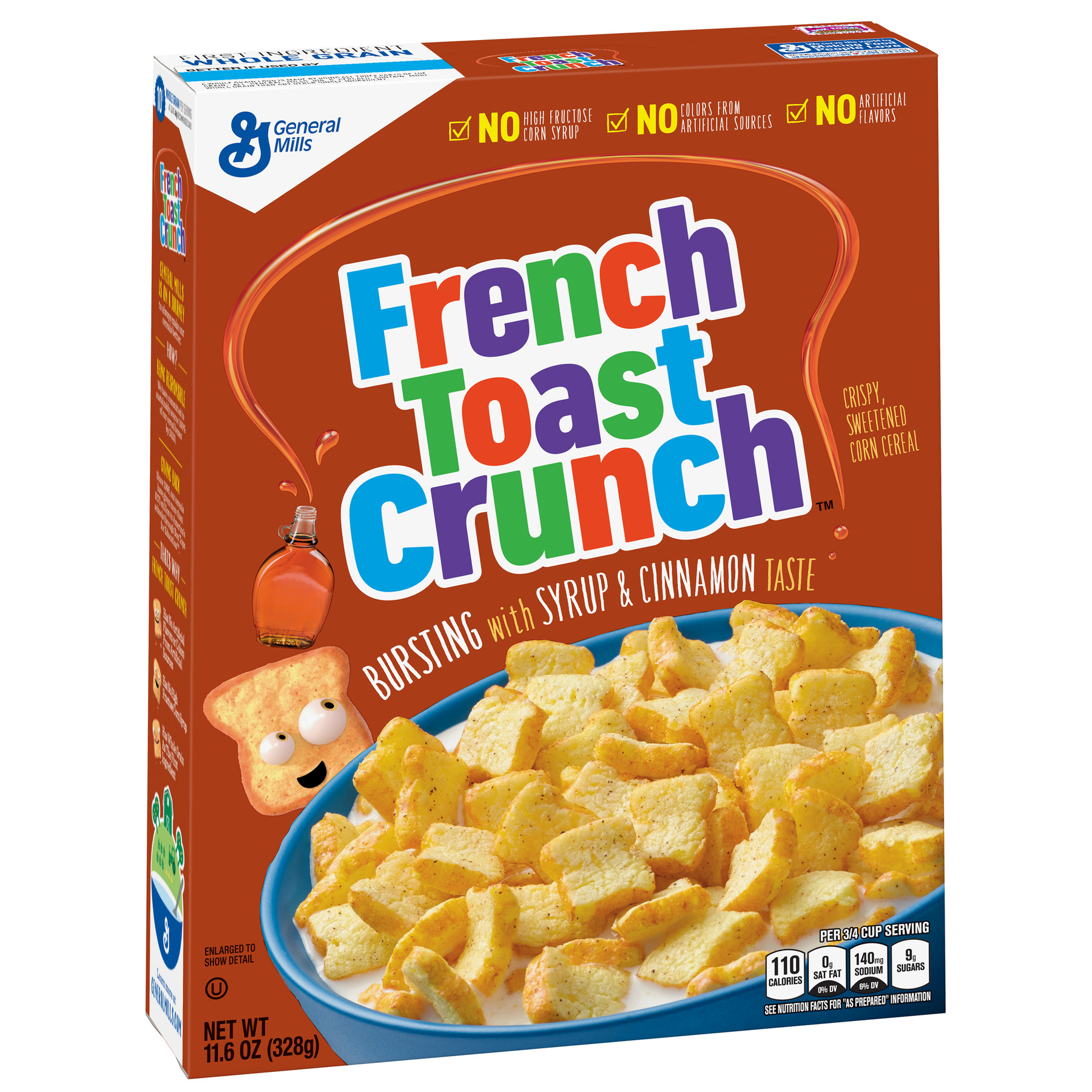 French Toast Crunch Cereal, 11.6 oz