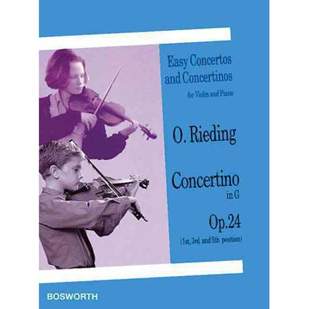 Concertino In G  Op  24 1St  3Rd And 5Th Position  Easy Concertos And Concertinos For Violin And Piano