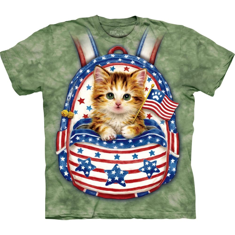 The Mountain Kids Big Patriotic Kitten